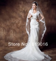 Hot Sale Wedding Dress Free posting 2013 fish tail wedding dress winter sweet princess vintage train wedding dress 007