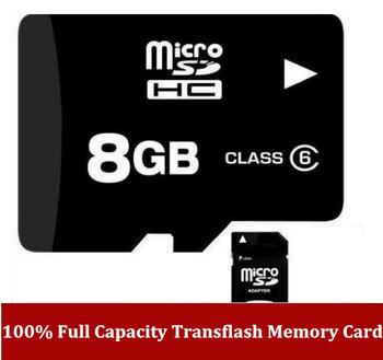 Free shipping 100% Full Capacity 1GB 2GB 4GB 8GB 16GB 32GB  Micro SD HC Transflash for tablet PC intelligent mobile phone