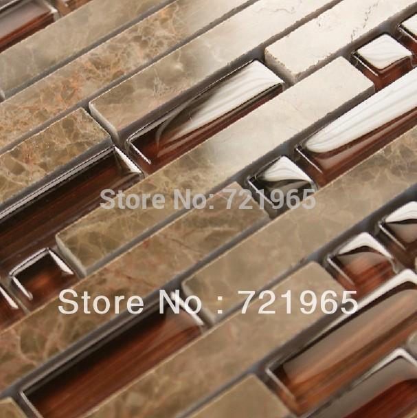 Emperador marmeren tegels koop goedkope emperador marmeren tegels loten van chinese emperador - Donker mozaieken badkamer ...