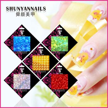 10 pcs/lot New Fashion Mix colors Nail Art Transfer Foil Set Nail Tip Decoration  3d nail stickers SKU#D2013