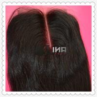 rosa Hair Products Lace closure human hair malaysian virgin hair,silky srtaight,10inch -22inch, natural color DHL free shipping