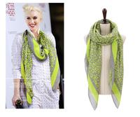 2013 HOT Sale new style Women's  long cotton worldwide Leopard big Winter Scarf,Warm headband shawl, 180*110 FREE SHIPPING
