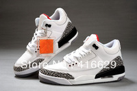 Free Shipping Retro  III 3 Classic Womens Retro Basketball Shoes Air Trainer Size 36-40 Wholesale