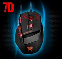 800/1200/1600/2000 DPI USB 3D Mouse Professional Competitive Gaming Mouse 7 Buttons Mice For PC/Laptop/Gamer Retail Box
