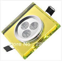 LED Crystal ceiling light 3w AC85-265V