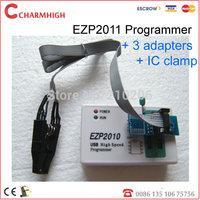 Updated ezp2011/ ezp2010+ 3 adapters +IC clamp, update EZP 2010 programmer USB SPI Programmer, best price