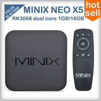 MINIX NEO X5 RK3066 Dual Core Mini PC Android 4.1 OS Cortex-A9 TV Box 1GB RAM 16GB ROM Wifi Bluetooth RJ45 1080P HDMI XBMC