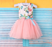 suitable girl age1-4 classic  princess dress girl floral girls  baby yarn tutu dress girls clothes cotton lace dress,13APR24