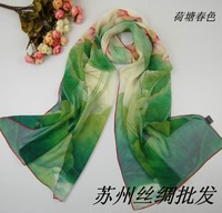 2013 mulberry silk scarf ,female silk scarf