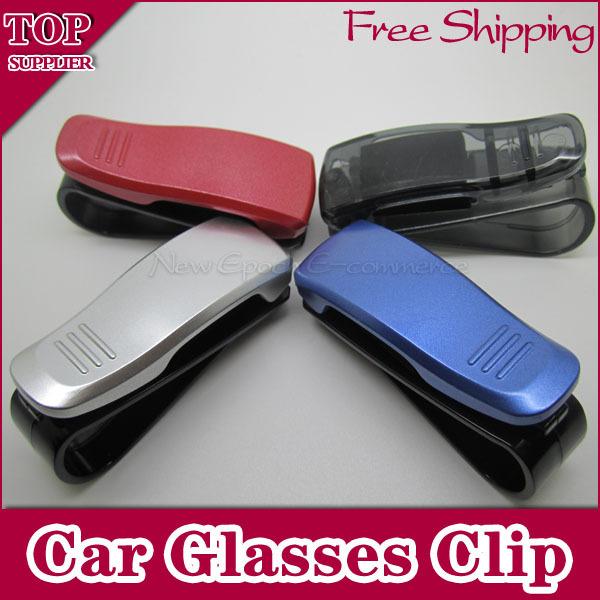 1pcs Fashion Smart Car Vehicle Sunglasses visor clip Eyeglasses Holder Free Shipping(China (Mainland))