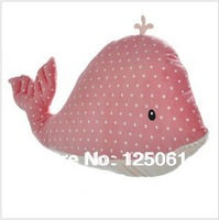 Free Shipping 65cm Cute whale  Pillow creative plush cushions nap pillow sofa cushion