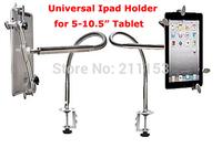 "Free HK 2014 New Soft Pipe Adjuatble Lazy Bracket Metal Stand Holder Desk Bed Clamp Mount For 5-10.6"" Tablet PC Mobile Phone GPS"