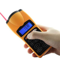 ULTRASONIC DISTANCE METER TAPE MEASURE & LASER POINTER DIGITAL TAPE MEASURE FREE SHIPPING