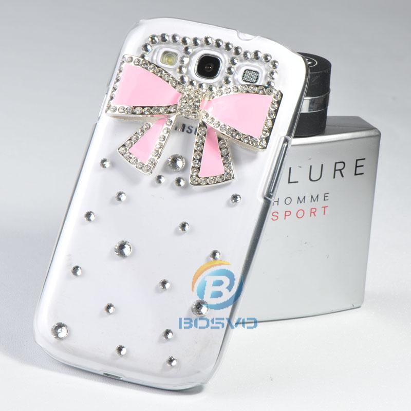 new arrival housing cover bling 3D DIY rhinestone diamond case for