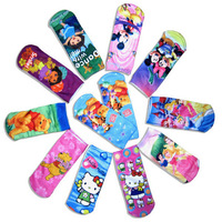 Sophia the first princess Cotton Children Socks,cartoon boy & girl's sock,Cartoon Kid Sport Hosiery Girl Sock,cotton ankle sock