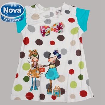 baby girls children princess dress 2014 spring summer party tutu evening dresses for baby girls clothing Nova kids wear H2823
