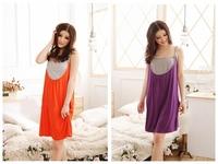 2014 Gravida [drop Shipping] Maternity Dress Pregnant Women Clothing Nursing Clothes Maternal Breast Feeding Bottom Sleepwear N