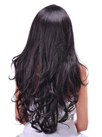 20inch Fairy Full Long wig Soft Wavy Fashion Synthetic Wig Free Shipping.