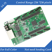 5A-75 Full Color LED Display Drive Receiving Card Support Gigabit NIC not need sending card
