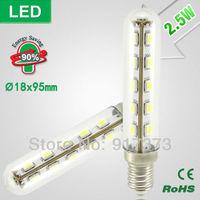 led fridge lamp SMD Lndicator Light  led cabinet light Ultra-small Refrigerator Light Bulbs Desk Lamp 2.5W E14