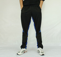 New Soccer Trousers Football Trousers Training Elastic Pants #1881 Black Free Shipping