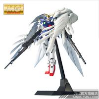 Free shipping Real Brand Product Bandai 1/100 MG Wing Gundam Zero model high quality building toys
