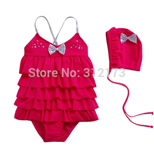 AliExpress.com Product - FREE SHIPPING-----girls beach wear baby clothing girl swimsuit kid swimwear fashion one-piece girl bathing suit 1pcs/lot s 05308