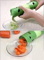 Wholesale price 1set 2013 New Vegetable Fruit Twister Cutter Slicer Processing Kitchen Utensil Tool