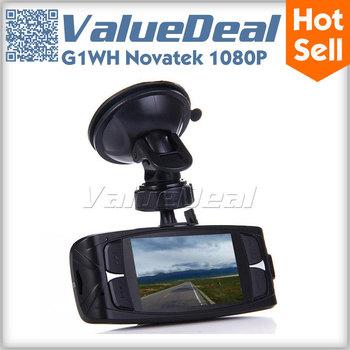 In Stock GS9000 Car DVR Recorder Camera Original Ambarella 1080P Full HD 2.7 inch LCD Wide Angle with GPS G-Sensor HDMI AV Out