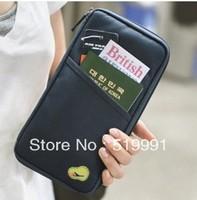 Fashion Travel Passport Credit ID Card Cash Holder Organizer Wallet Purse Case Bag