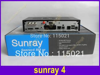 2014 DM800hd se original Sunray 800se sr4 with sim a8p card  sunray4  Triple Tuner Satellite TV  Receiver 3 in 1 Tuner DVB-S/C/T