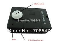 Freeshipping  PIR MP.Alert Infrared Sensor Alarm Anti-theft Motion Detection GSM Alert Black TOP-SELLING  inretail box Chinapost