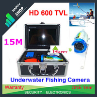 1pcs/Lot New Underwater Fishing Camera With 15M Cable SONY 600TVL High Resolution CCD Camera Weatherproof Camera, fish finder
