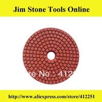 "4"" Professional Wet Polishing Pads Diamond Tools For Granite"