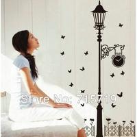 New 2014 The third generation wall stickers fashion garden light restaurant sofa tv wall stickers
