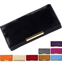 2013 wholesale Luxury Brand GAOFAN genuine cow leather horsehair lady women purse wallet bag free shipping