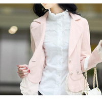 Women's Dress Shirt Fashionable Tops Lace Blouse Long Sleeve Tops Summer Office  Blouses OL Clothes