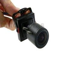 HD 700TVL 1/3 Inch Sony CCD Nextchip Mini CCTV Security Audio Color Camera Mic 2.8-12mm Manual IRIS Zoom MTV Lens