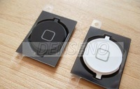 30pcs/lot For iphone 4S Home button black white color mix Free shipping