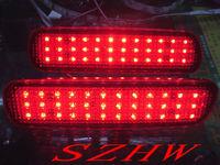 Car bright LED brake light, car modified light , Car rear LED fog light For LEXUS LX470, 1sets/lot Free shipping