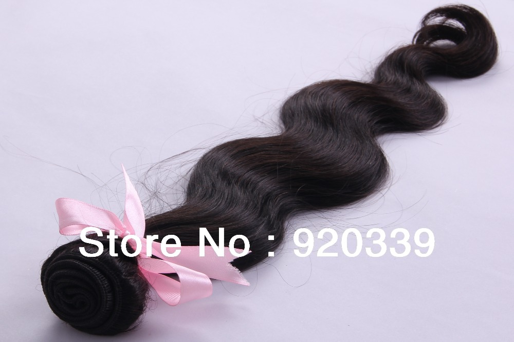 Chuchus hair Queen hair product Brazilian Body wave100% human virgin hair 1pcs free choice Grade 5A Unprocessed hair(China (Mainland))