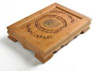 Bamboo Board  water drawer styler kungfu tea tray storage traditional chinese xiangfu tea board,tea tray saucerFree shipping