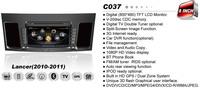 Car DVD for Mitsubishi Lancer 2010 2011 Auto Multimedia 1G CPU 3G Host HD Screen S100 DVR Audio Video Player Free Ship EMS DHL