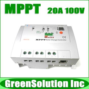 New Arrival! Max. PV 100V 20A MPPT Solar Charge Controller Regulators 12V 24V PV Power System, Tracer 2210RN