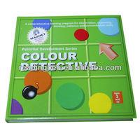 Hot Selling EVA Multicolor Logic color detective puzzle for kids