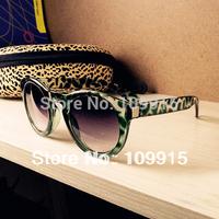 Unisex Round Sunglasses Rivet Plastic Frame Round Eyeglasses Eyewear Glasses  SL00297