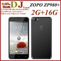 ZOPO ZP980+ MTK6592 Octa Core Phone 14mp Camera upgraded to 2GB RAM 16GB ROM 5'' 1920*1080p Gorilla Glass Android 4.2 GPS WCDMA
