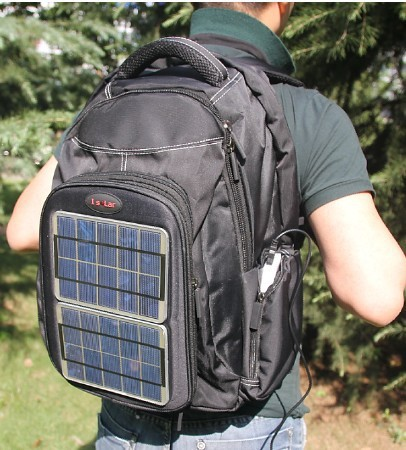 solar power bag,solar bag,solar carger for iphone,mobile,camera ETC, free shipping(China (Mainland))