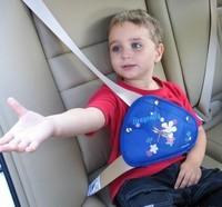 Safe fit thickening car safety belt seat adjust device baby child safety belt protector seat belt positioner 2-10years safe seat
