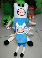 "Free Shipping Adventure Time With Finn And Jake (Finn) Plush Toys 11"" 30cm With Bag"